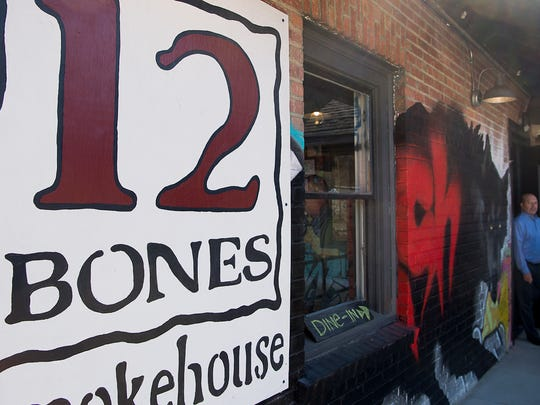 Asheville's iconic barbecue joint 12 Bones Smokehouse opened its doors to customers Monday Feb. 6, 2017 at its new home at 5 Foundy St. after closing its doors at the Riverside Drive location.