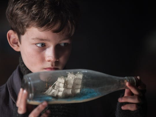 Peter (Levi Miller) stows away to get to Neverland