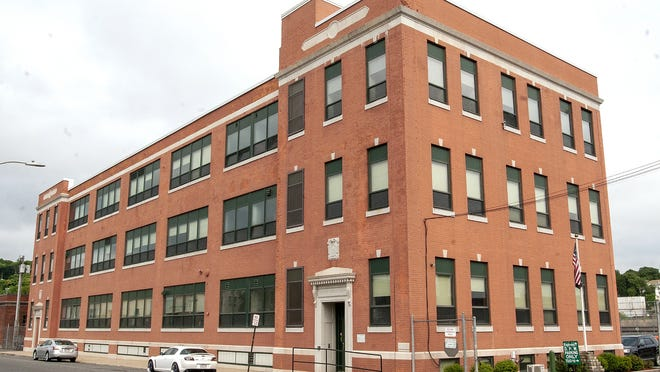 The Worcester Department of Public Works administration building at 20 East Worcester St.