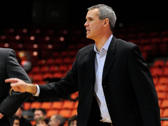 Former UW-Green Bay associate coach Mike Divilbiss left the same job at Illinois amid allegations of mistreating players.