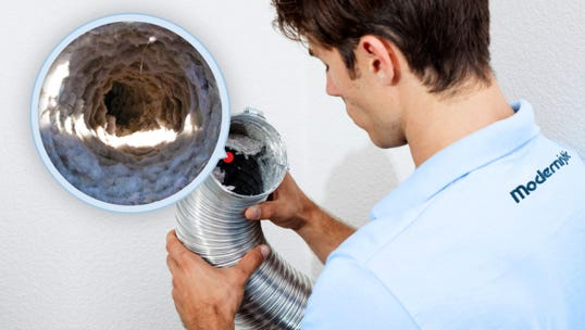 – One of the leading causes of residential fires every year is the dryer vent. It's a huge fire risk if it's not cleaned out regularly. Hire a professional to clean it out at least once a year.