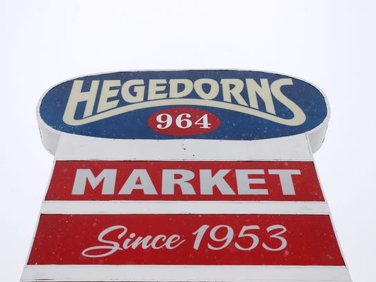 Bruce and Mary Hegedorn opened Hegedorn's Market in