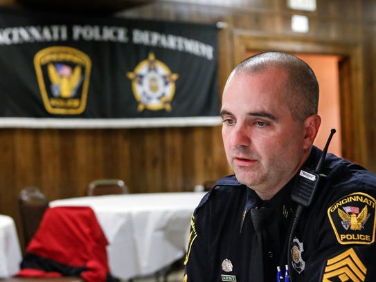 Sgt. Dan Hils, president of the Fraternal Order of