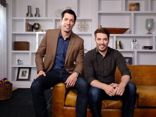 Drew, left, and Jonathan Scott star on HGTV's 'Property