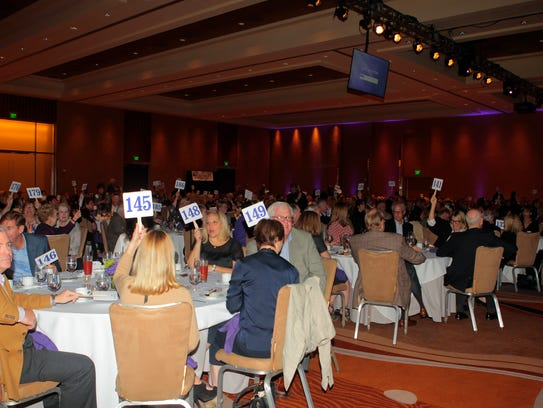 More than 400 people attended last year's Sky Foundation