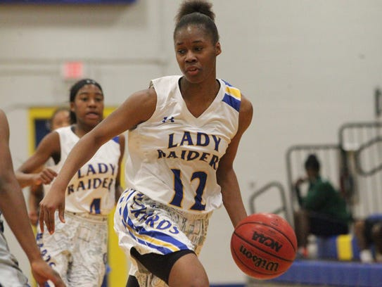 Rickards senior Tamia Riles, last year's All-Big Bend Player of the Year, will try to help a deep team get past the Class 6A regional finals, where the Raiders have lost the last two years to powerhouse Jacksonville Ribault.