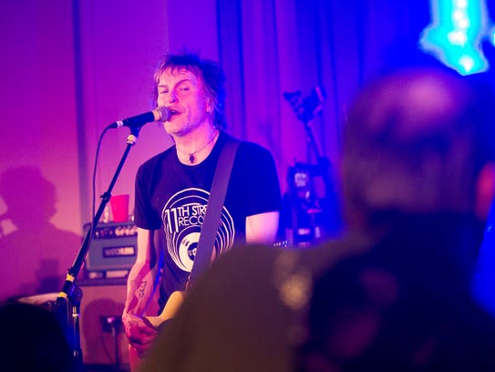 Tommy Stinson performs with Bash & Pop at the Masonic
