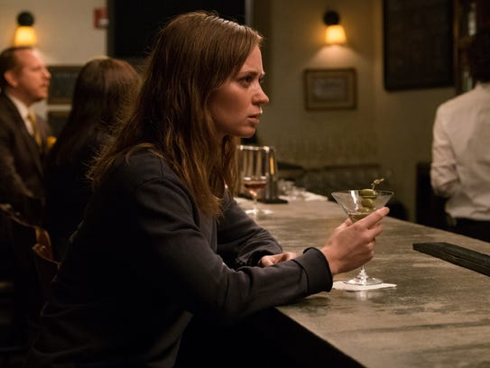 Emily Blunt as Rachel in the movie adaptation of 'The