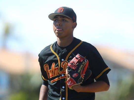 Jeremiah Estrada, who played for Palm Desert High School