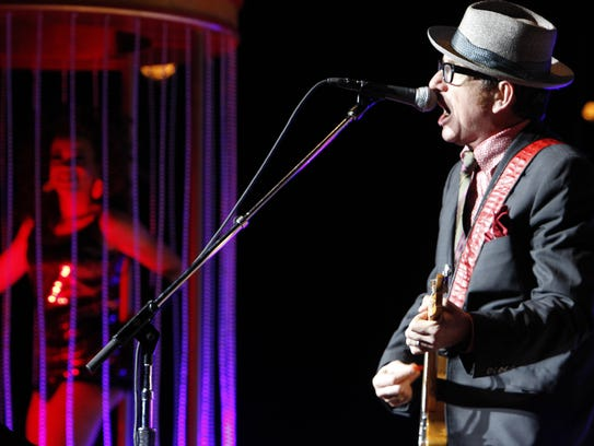 No hard feelings: Elvis Costello has been back to Rochester