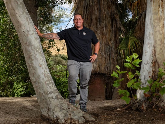 Jeff Grubbe the tribal chairman of the Agua Caliente