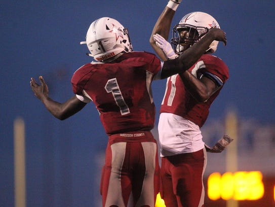 Madison County beat Florida High 49-6 on Thursday night,