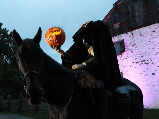 Horseman's Hollow takes place at Philipsburg Manor