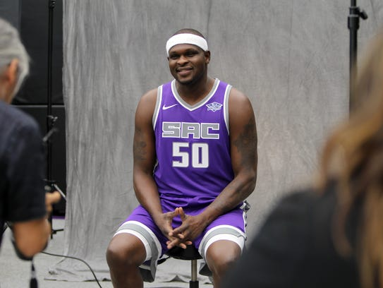 Sacramento Kings forward Zach Randolph