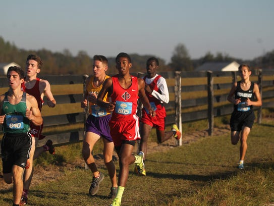 NFC sophomore David Keen finished in the top 10 of