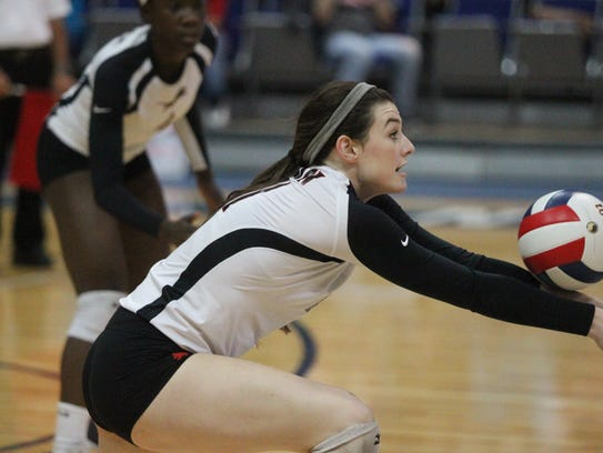 The state-ranked No. 2 Leon volleyball team fell 3-1