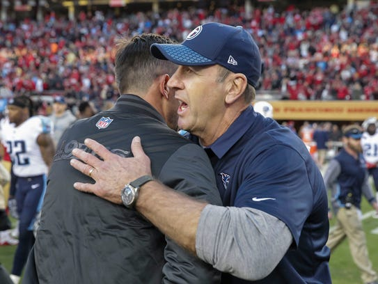 Ex-Bills coach Mike Mularkey, now with Tennessee, is