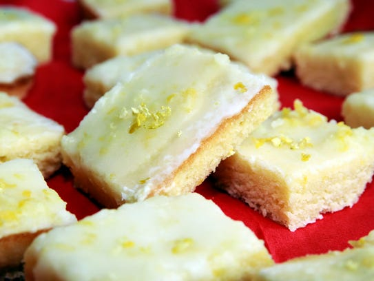 Lemony Lemon 'Brownies' don't have any chocolate but