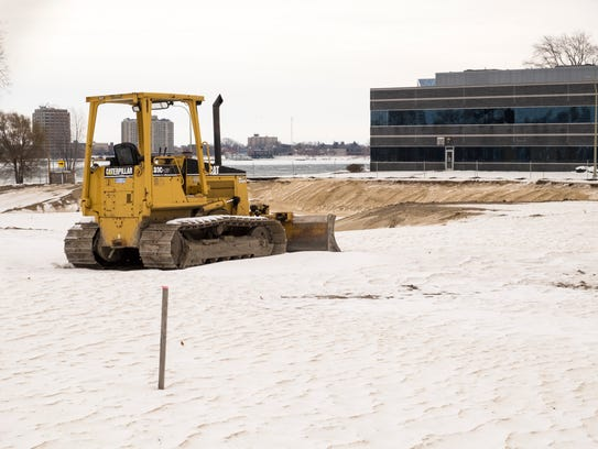 Construction has begun at the site of the former YMCA,