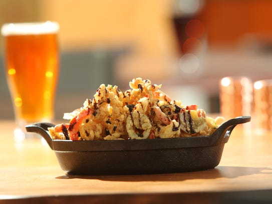 A terrine of fried calamari at Ursino Steakhouse &