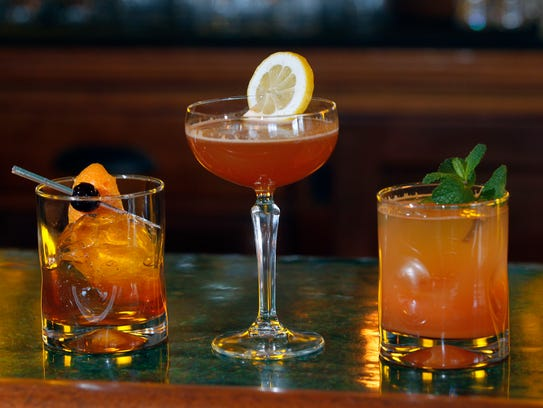Some cocktails: The Original's version of an Old Fashioned