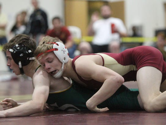 District 2-1A wrestling tournament at Florida High