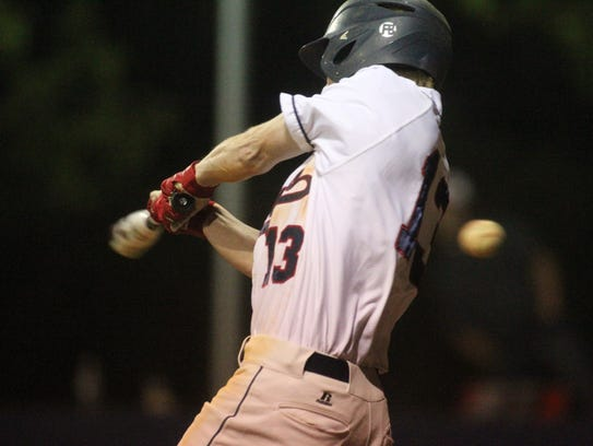 Wakulla's Bailey Fagan can't catch up to a fastball.