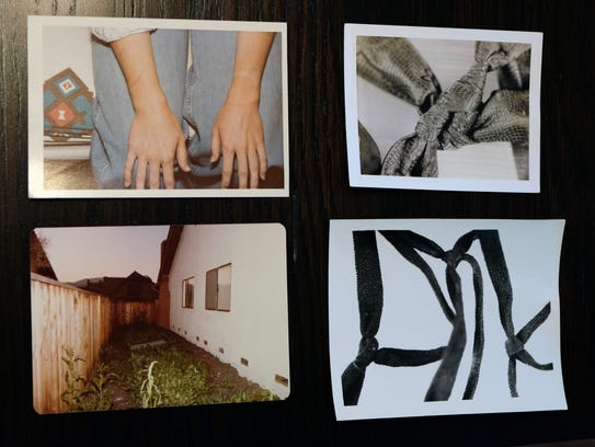Photographs from crimes committed by the East Area