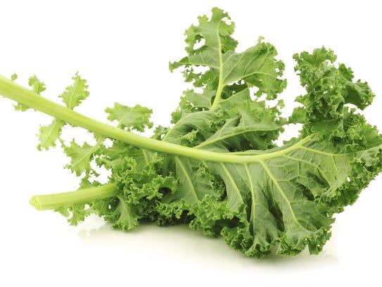 Kale is high in vitamin K.