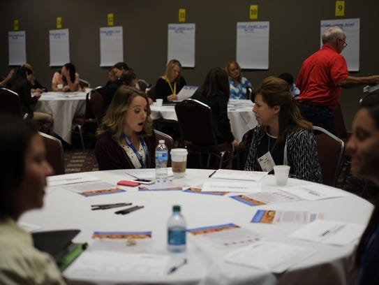 Roundtable participants discuss challenges and advice