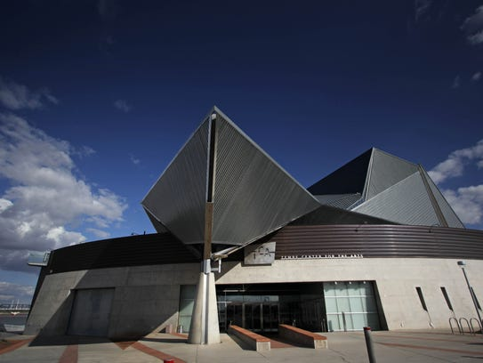 The Tempe Center For Arts Is Located On South