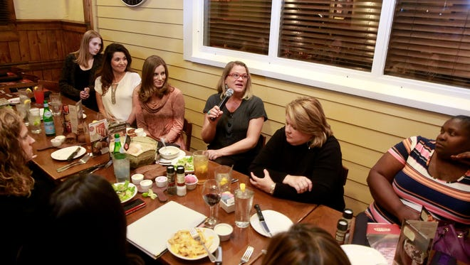 """Believe, Give, Network hosts a """"Little Black Dress"""" event on Thursday at Outback Steakhouse in Farmington. The evening gathering provides local businesswomen a chance to network."""