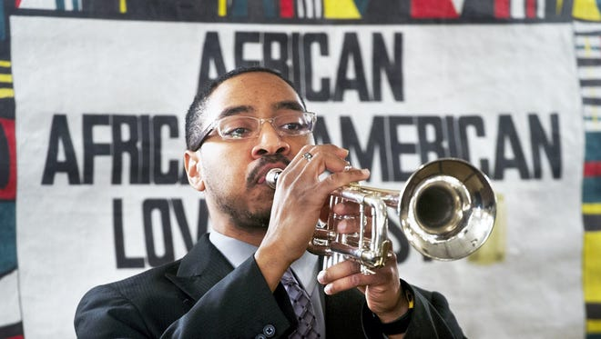 Shane McMillan opened the African/African-American Love Feast and Recognition Dinner in 2014. He is among those being honored at this year's event.