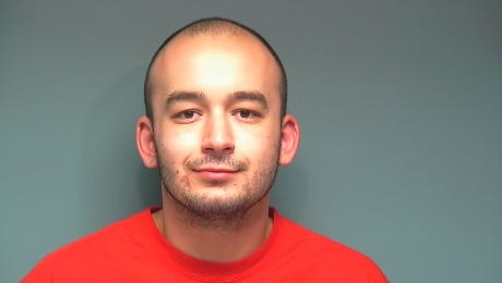 Nathaniel Mello, 26, of Dallas, was arrested on attempted murder charges after he allegedly stabbed his former friend.