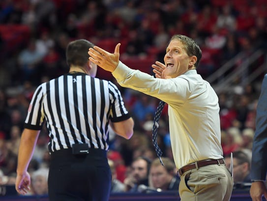 Eric Musselman's team was out-scored by 12 points at