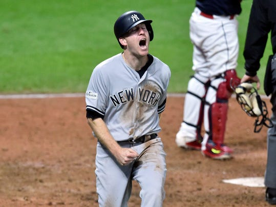 MLB ALDS New York Yankees at Cleveland Indians (2)