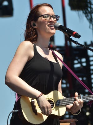 Ingrid Michaelson on the Chevrolet Stage at Hangout Music Fest.