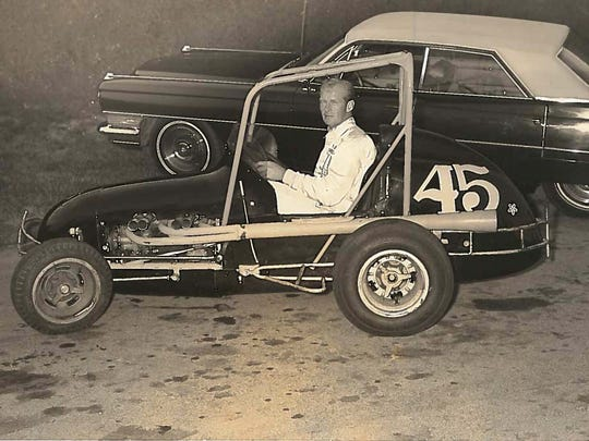 Jack Crawford's passion was driving high-powered sprint cars.