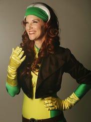 Heather Parenteau brings Marvel Comics' Rogue to life
