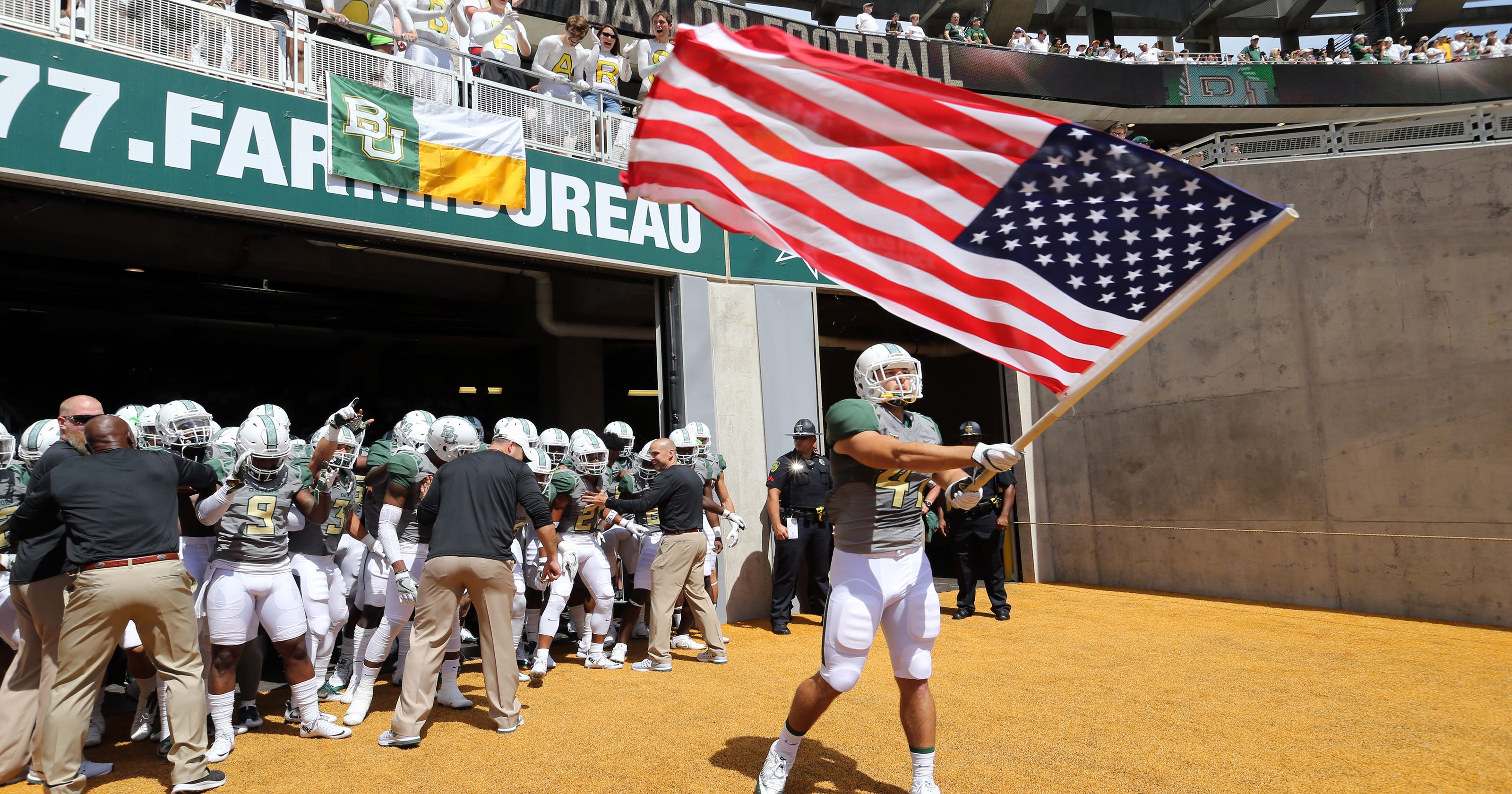 Walk-on Wednesday  Baylor s Kyle Boyd goes from Marine Corps to McLane  Stadium b0fd78184