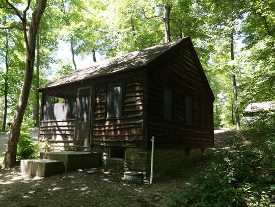 Cabins built by the Conservation Corps  available for