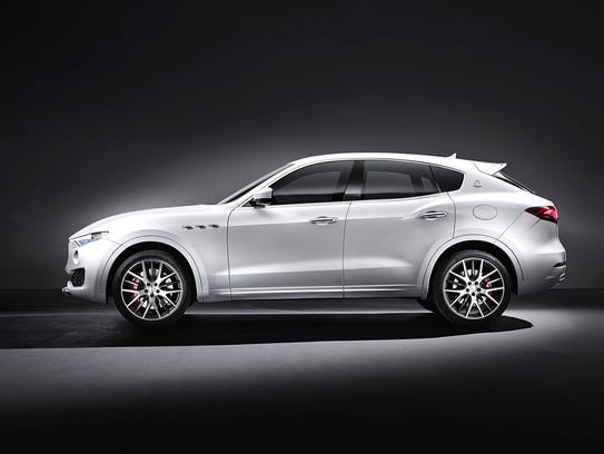 Maserati Levante to be shown at the 2016 Geneva Auto