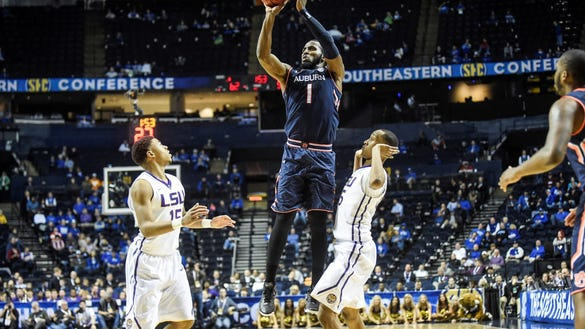 Senior guard K.T. Harrell tied a career-high with 29