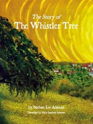 "The cover of ""The Story of the Whistler Tree."""
