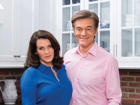 Lisa Oz and Dr. Mehmet Oz recently released a new cookbook -The Oz Family Kitchen. For a feature in the Spring 2016 issue of (201) Gold Coast Magazine.ANNE-MARIE CARUSO/STAFF PHOTOGRAPHER