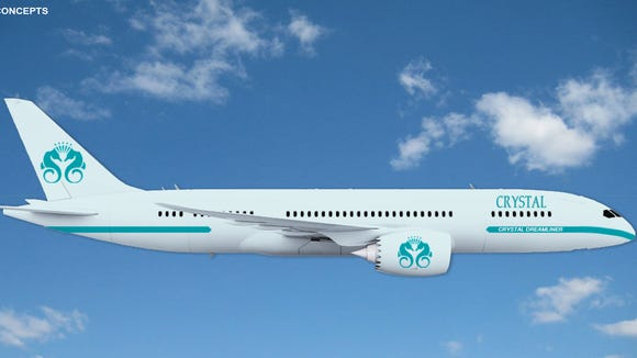 Luxury line Crystal Cruises plans to purchase a Boeing