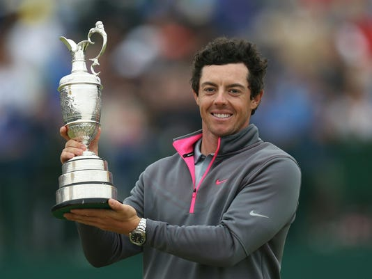 British Open McIlroy