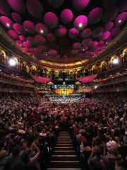 Royal Albert Hall annually welcomes audiences of more