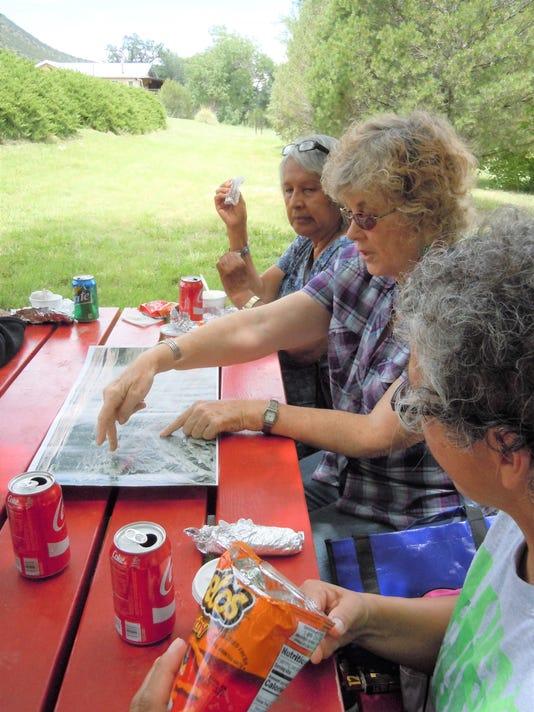 lynda with mescalero elderly