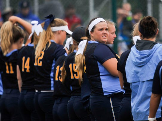 River Valley took on Jonathan Alder in the Division II district finals at Pickerington Central High School last year.